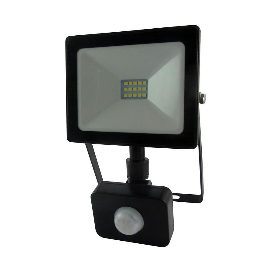 Reflektor LED 10W Flat s čidlem BAUMAX