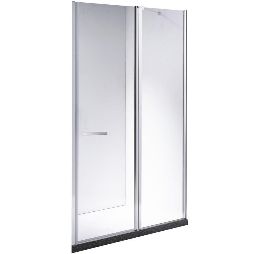 Sprchové dveře Milos 110/195 čiré sklo 6MM AQUAMERCADO