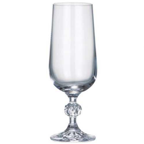 Bohemia Sterna/ Klaudia skleničky šampaňské 180ml sada 2ks Baumax
