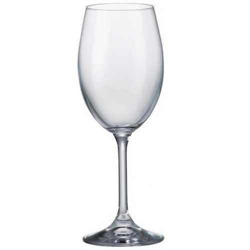 Bohemia Sylvia Klara skleničky šampaňské 220ml sada 6ks Baumax